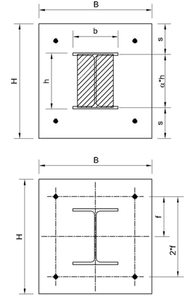 Base Plate Design Metric Units